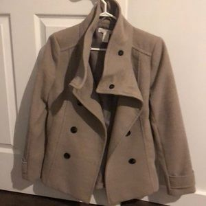 H and m pea coat